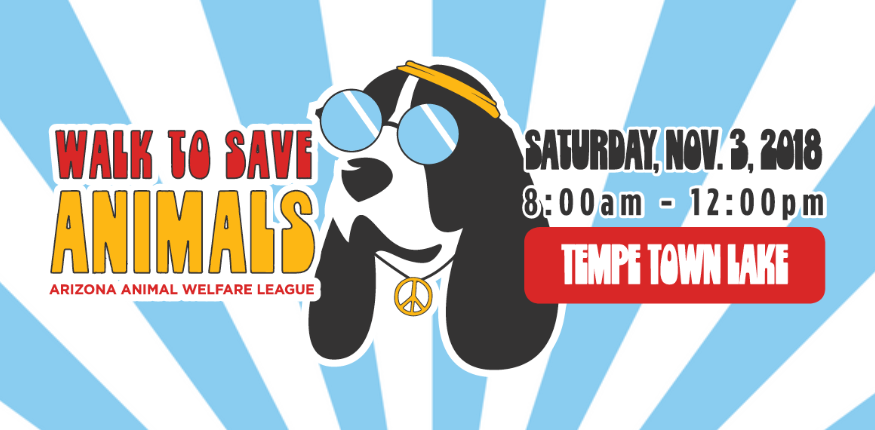 Walk to Save Animals Advertisement. Saturday November 3rd